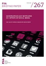 Geostrategically motivated co-option of social media: