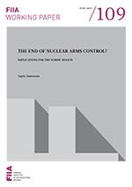 The end of nuclear arms control?