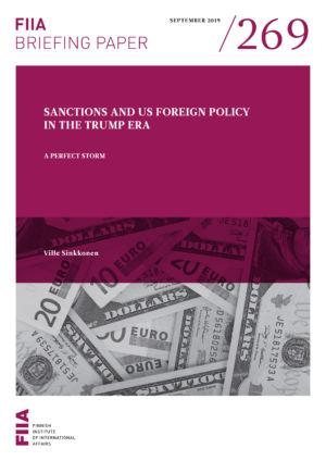 Sanctions and US foreign policy in the Trump era: A perfect storm