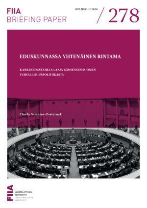 Eduskunnassa yhtenäinen rintama: Kansanedustajilla laaja konsensus Suomen turvallisuuspolitiikasta