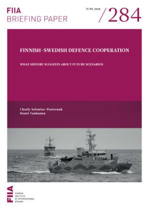 Finnish-Swedish defence cooperation: What history suggests about future scenarios