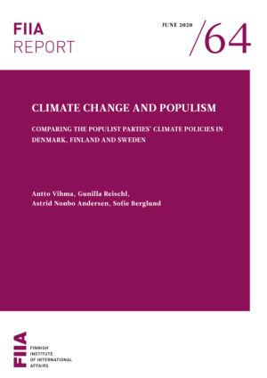 Climate Change and Populism: Comparing the populist parties' climate policies in Denmark, Finland and Sweden