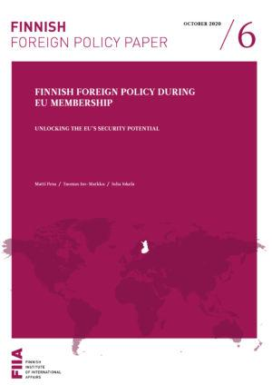 Finnish foreign policy during EU membership: Unlocking the EU's security potential