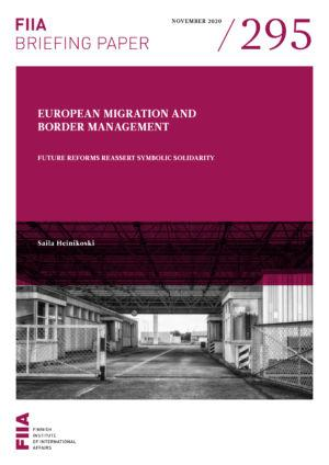 European migration and border management: Future reforms reassert symbolic solidarity