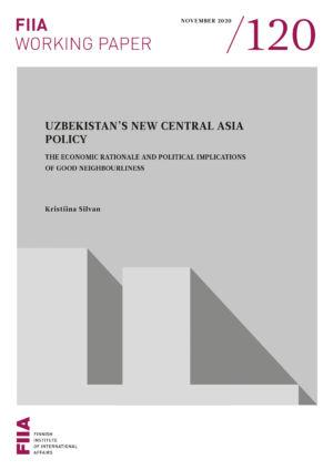 Uzbekistan's new Central Asia policy: The economic rationale and political implications of good neighbourliness