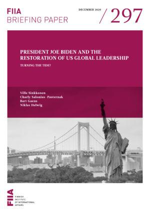 President Joe Biden and the restoration of US global leadership: Turning the tide?